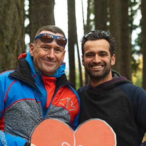 Bernd Fankhauser und Thomas Falkner, Teamgeist (Foto: Andre Schönherr)